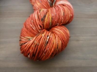 Pumpkin Hand Dyed Yarn