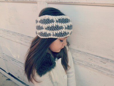 Brooklyn Ear Warmer Crochet Pattern