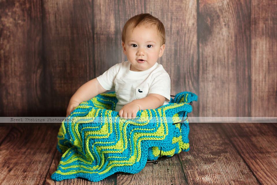 Fusion Ripple Blanket Crochet Pattern