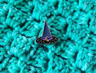 Witch Hat Enamel Pin