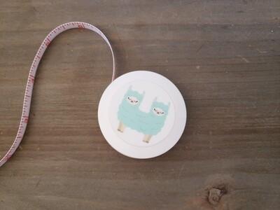 Double Headed Llama Retractable Tape Measure