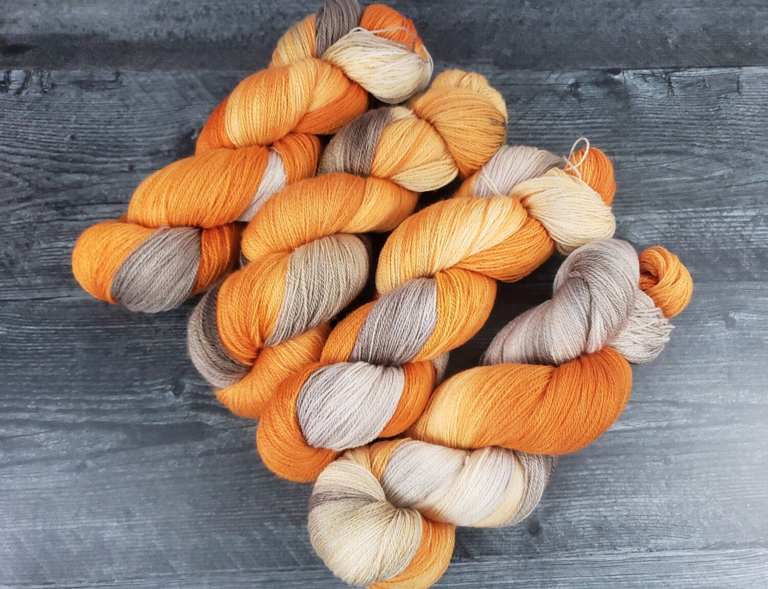 Autumn Lace Hand Dyed Yarn