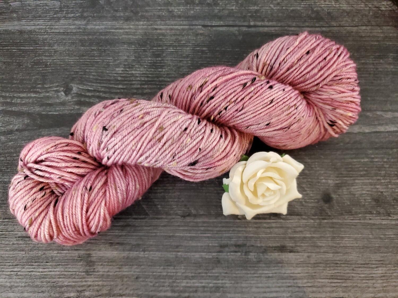Blush Tweed Hand Dyed Yarn