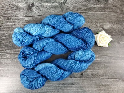 Peacock Hand Dyed Yarn - Sock RTS