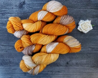 Autumn Hand Dyed Yarn RTS