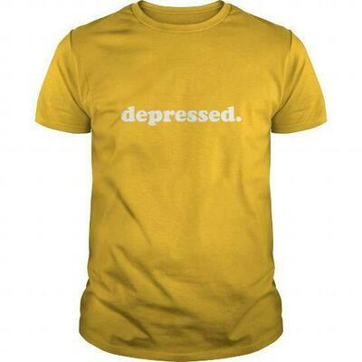 depressed. shirt