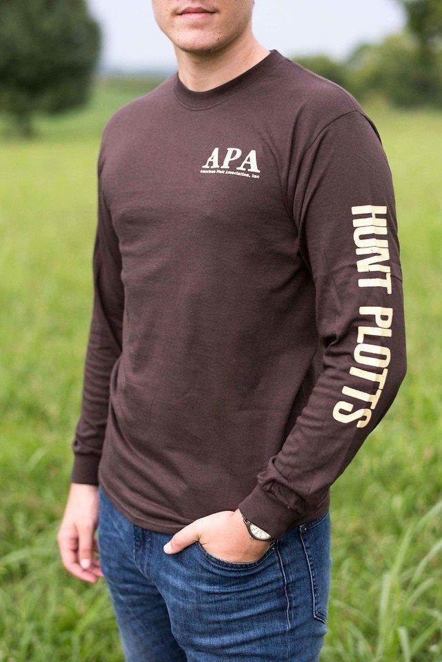 Brown Longsleeve T Shirt 00008