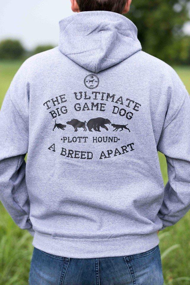 Dark Grey Ultimate Big Game Dog Hoodie 00011