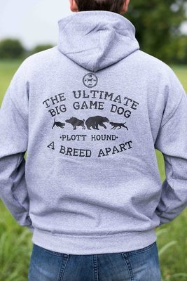 Dark Grey Ultimate Big Game Dog Hoodie