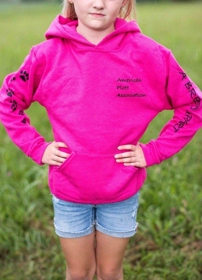 Youth Pink Hoodie 00034