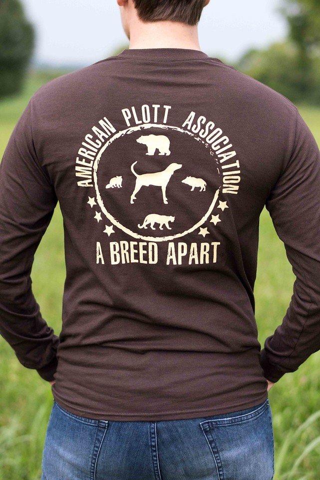 Brown Longsleeve T Shirt