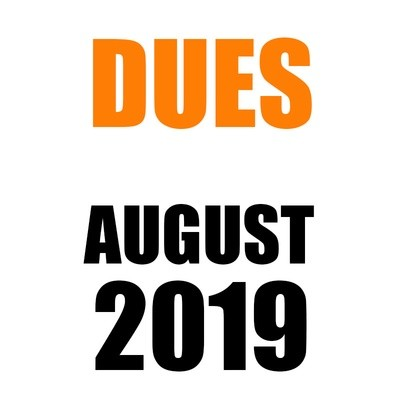 DUES | August 2019