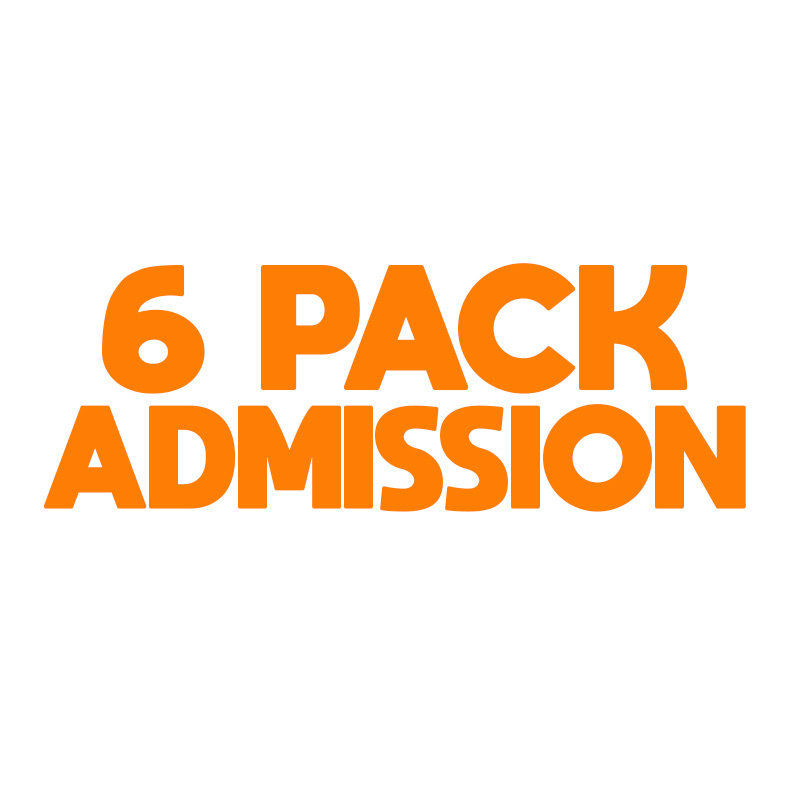 6 Pack Admission