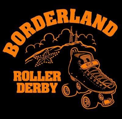 T-Shirt   Borderland Roller Derby