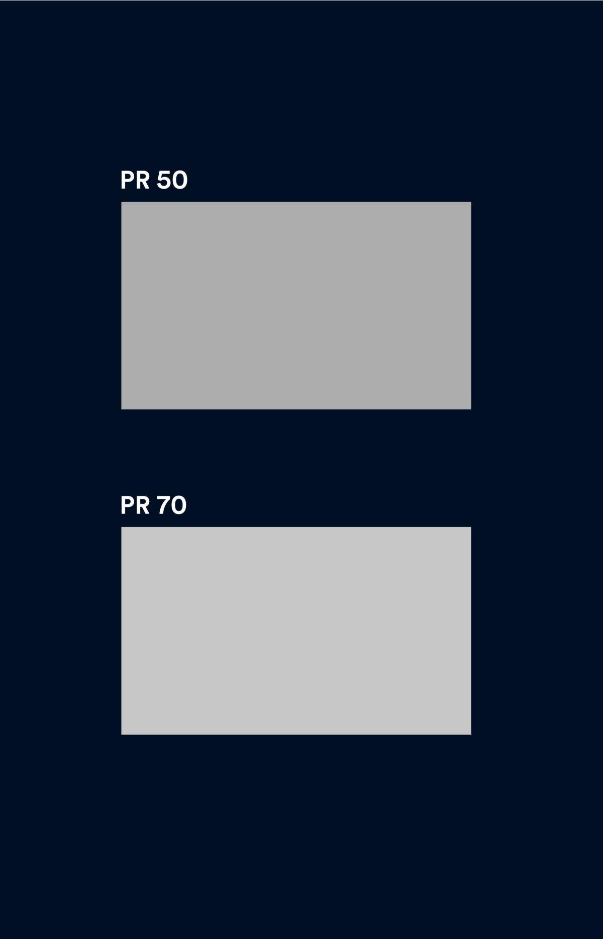 ฟิล์มกรองแสงรุ่น เพรสทีจ PR-70 *แก้ไขราคา