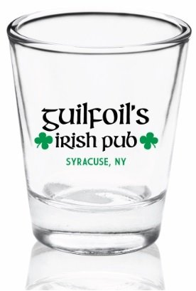Guilfoil's Logo Shot Glass 00006