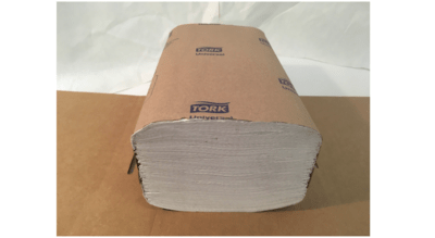 Paper Towel 16 bundles  x 250 sheets White Single Fold Tork