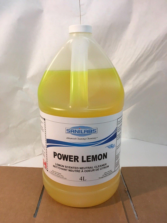 Cleaner Power Lemon Neutral Cleaner 4L