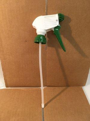 Trigger Sprayer Heavy Duty Green/White