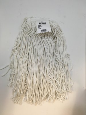 Wet Mop Head 16oz Wilen Synthetic Cut End