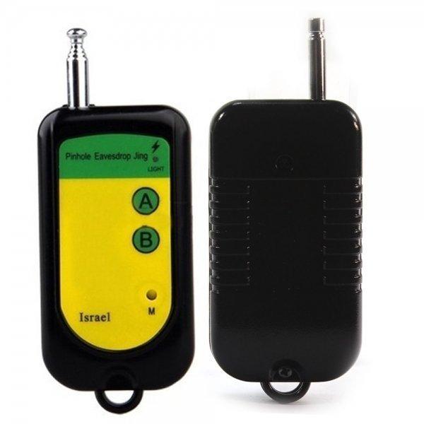 Anti-Spy Hidden Camera Wireless RF Bug Detector Tracer Device Finder Black BCE00959TM