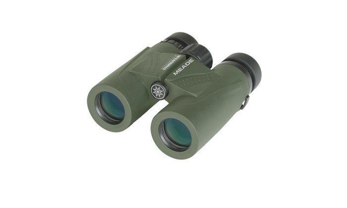 Meade 125023 Wilderness Binoculars - 10x32 Green BC125023GPN