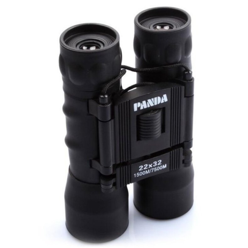 PANDA 22X32 Zoom High Magnification Binoculars Outdoor Telescope Black TM86022222
