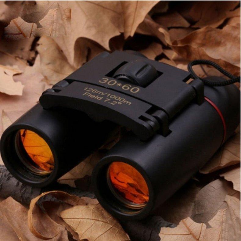 1000D Oxford Military Tactical Waist Bag & Compact Folding Night Vision Binoculars