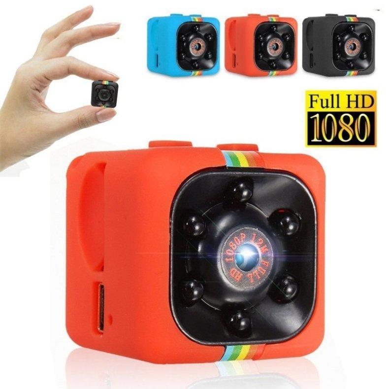 SQ11 Full HD 1080P Mini DV DVR SPY Camera Dash Cam IR Night Vision Red TM86034518