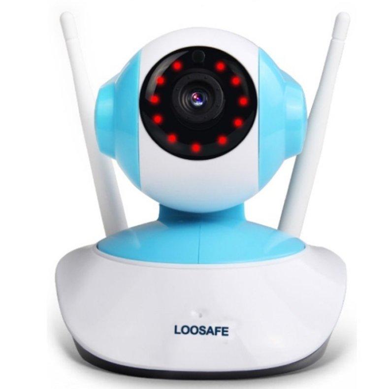960P HD 1MP WIFI Indoor Surveillance IP Night Vision Camera w/ US Plug