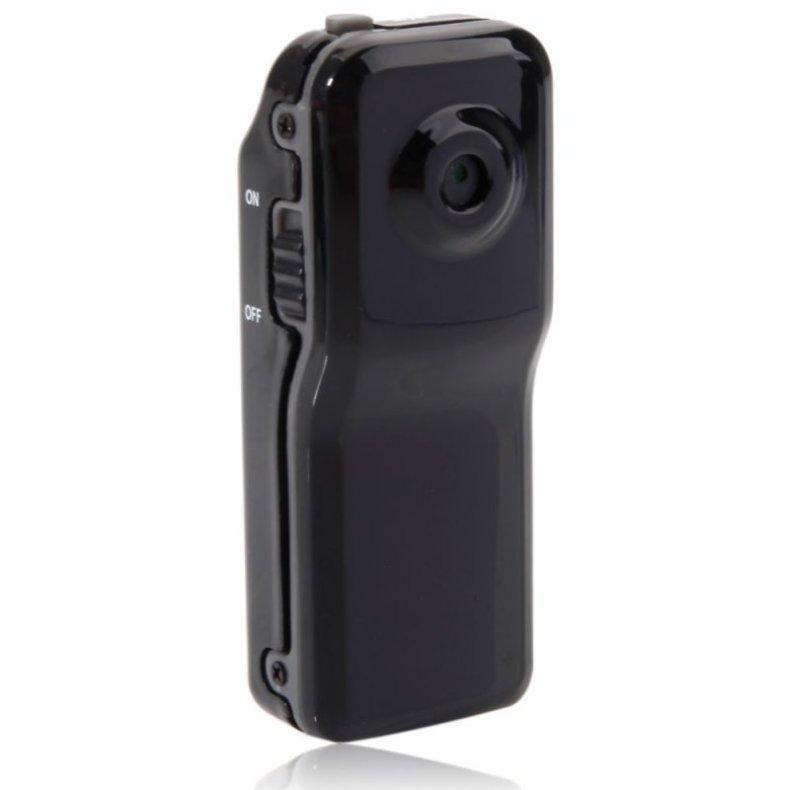 Ultra Mini WiFi Wireless IP Camera Home Surveillance Camera MD81 Black TM86TT2903
