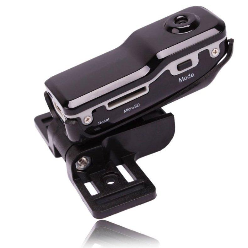 MD80 Mini DV DVR Sports Bike Video Camera Motorcycle Helmet Recorder TM86TT2701