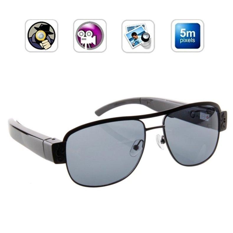 720P Fashion Ultra-thin Sunglasses Camera Eyewear Hidden Camera TM86TT2300