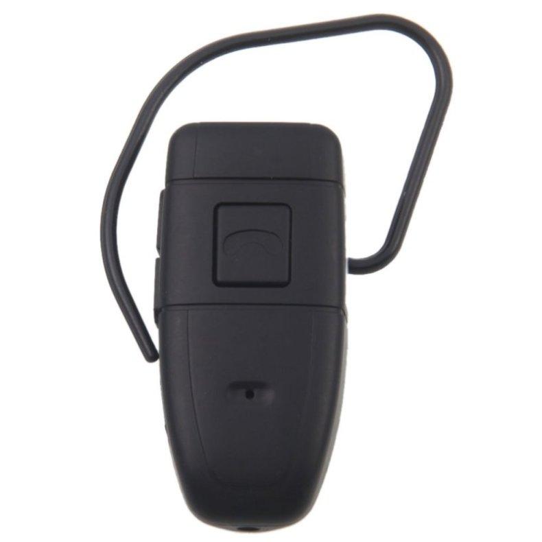 4GB HD Bluetooth Earphone Hidden Camera Black