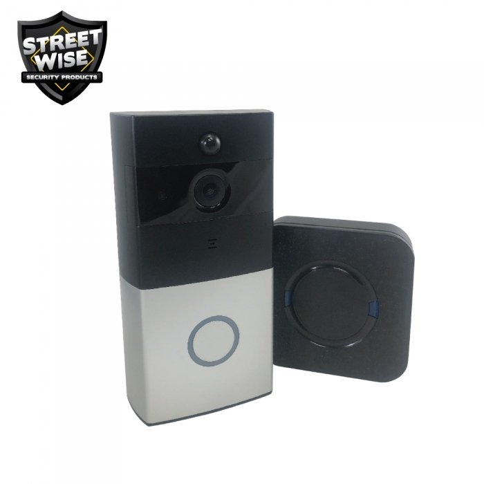 Streetwise Smart WiFi Doorbell with Chime CEPSWWDC