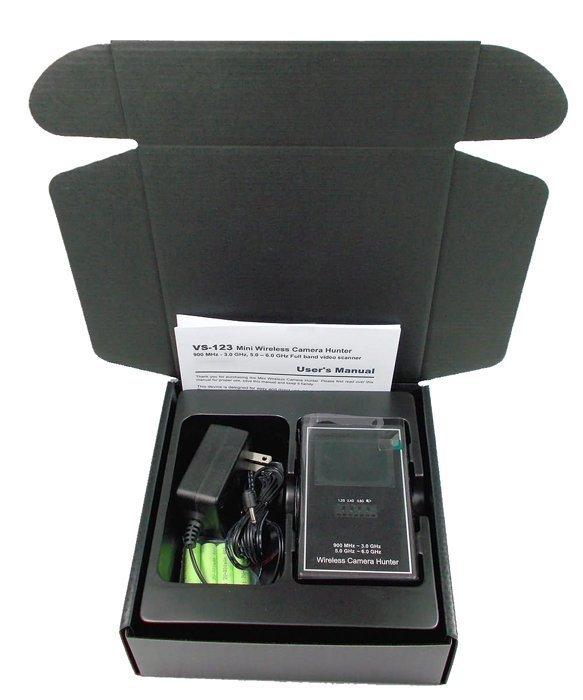 Camera Hunter Wireless Camera Detector