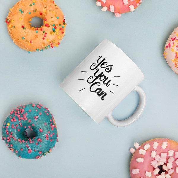 Mug: Yes you can