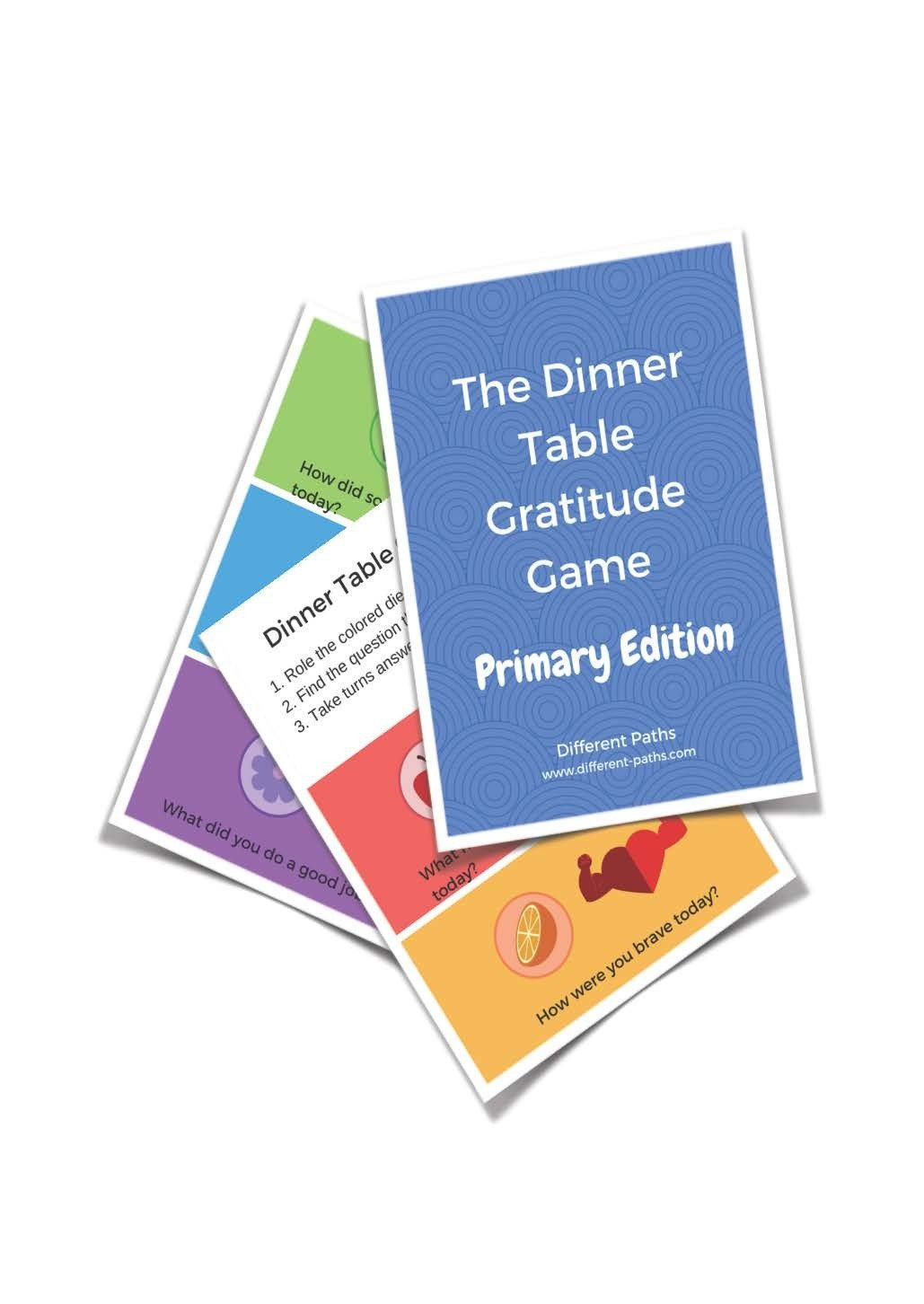 Gratitude Game- Primary Digital Version!