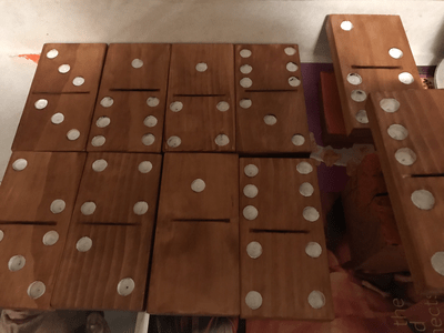 Tailgating/Camping Dominoes