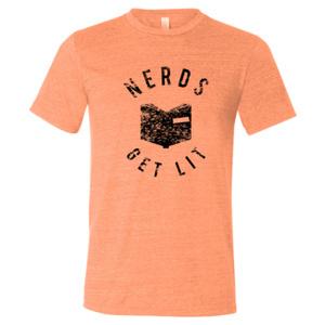Orange Nerds Get Lit Shirt XL 00032