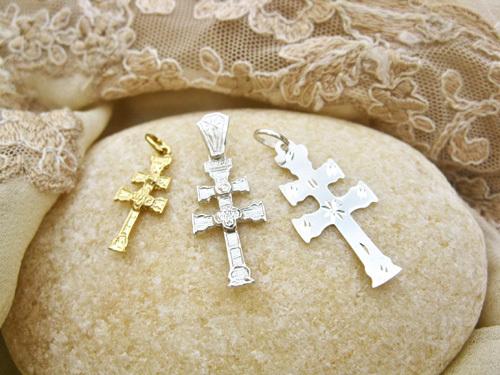 Three of our Caravaca crosses