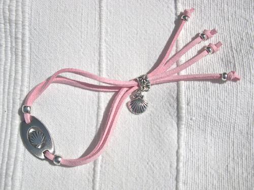 Pink Compostela bracelet