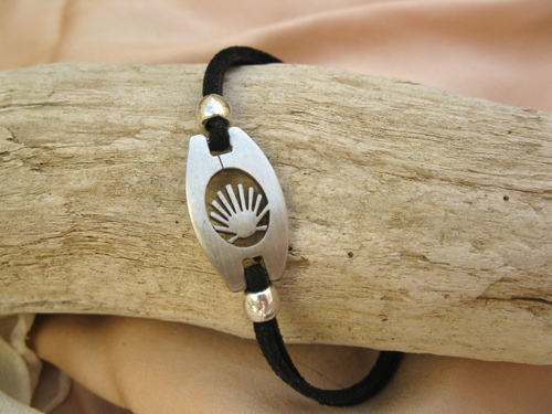 This soft suede bracelet is suitable for men or women