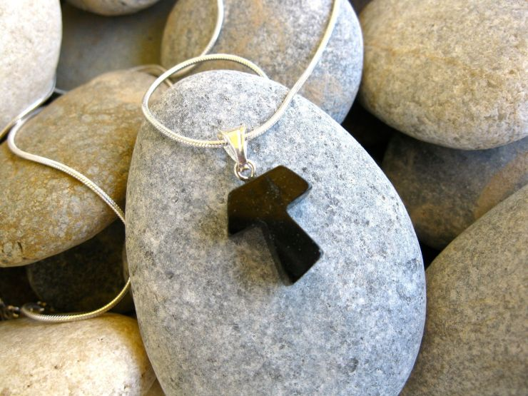 A special gift of faith that symbolizes reflection and a change in life