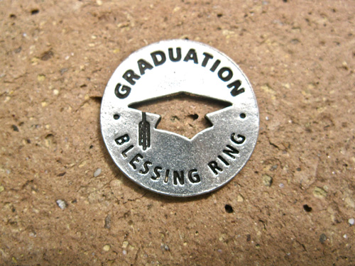 Blessing ring for Graduation 00585