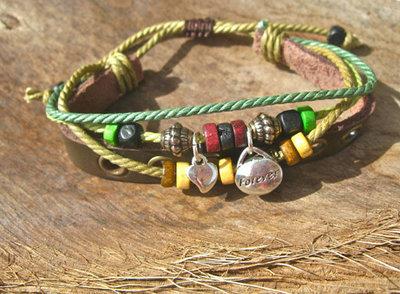 EVERLASTING LOVE bracelet ~ NaturalSoul, rosemary