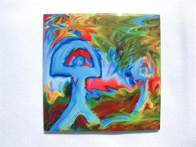 Indalo tile ~ Shout, digital art