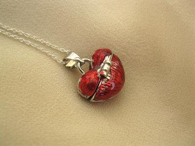 Wishing necklace ~ little heart