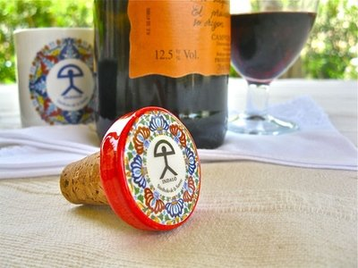 Wine stoppers ~ Indalo, round