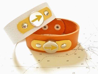 Way of St James Arrow symbol cuff bracelet